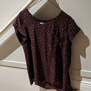 EUC: Reitmans cap sleeve blouse
